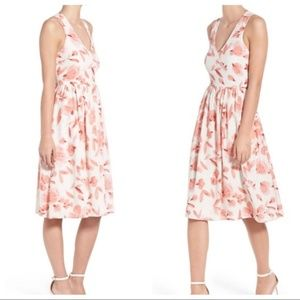 cupcakes & cashmere Dresses - Cupcakes and Cashmere pink and white floral dress